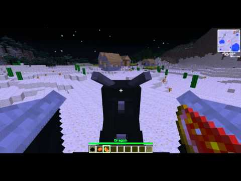 How To Hatch The Enderdragon Egg- Minecraft 1.2.5 (HD)
