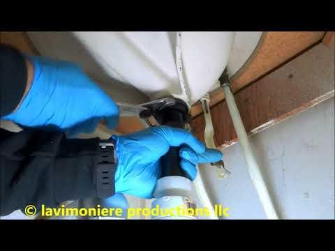 leaking sink drain repair