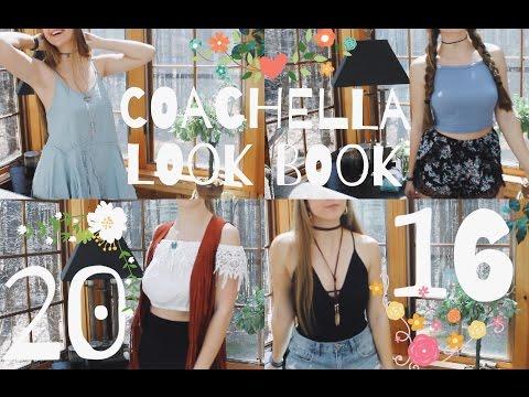 COACHELLA LOOK BOOK 2016 | Niki Maragos