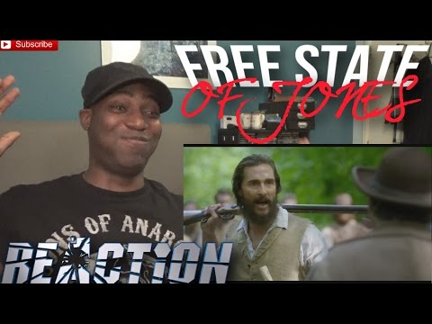 Free State of Jones Official Trailer #1 (2016) - Matthew McConaughey - REACTION!