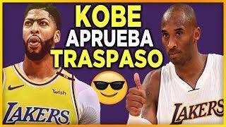 Kobe Bryant aprueba el traspaso de Anthony Davis a Los Angeles Lakers 🥇| NBA Lakers En Español