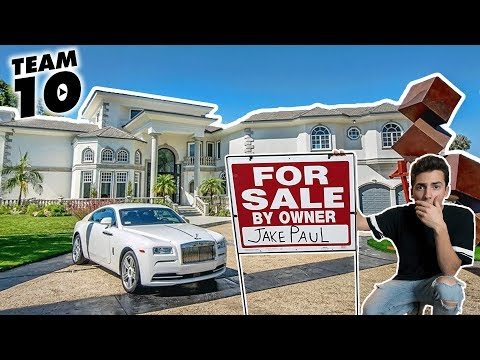 I PUT JAKE PAUL'S NEW TEAM 10 HOUSE UP FOR SALE! (ALMOST GOT CAUGHT)