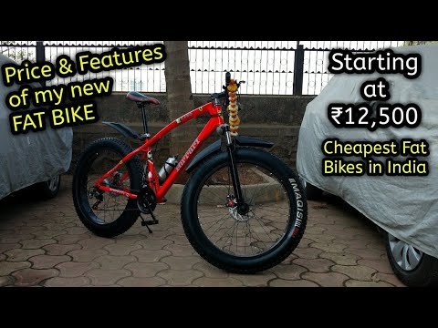 Cheapest Fat Bike in India | My New Fat Bike Specifications
