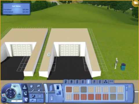 sims3 underground garage tutorial