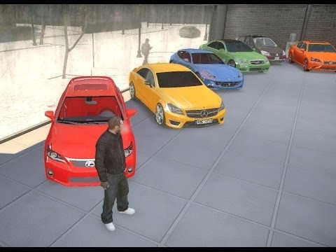 GTA 4 LUXURY REAL CARS DEALER ULTRA