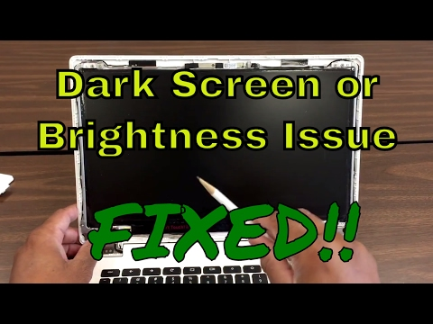 How to Fix Dark Screen issue or brightness Issue on ACER CB5-311 Chromebook