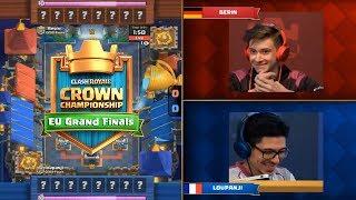 [Grand Finals] Berin Vs Loupanji   Clash Royale Crown Championship EU Fall 2017 Finals HD