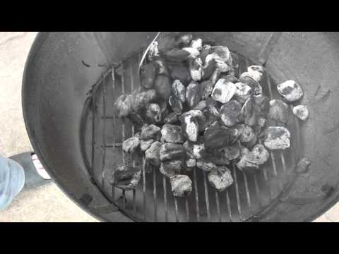Cleaning The Weber Grill
