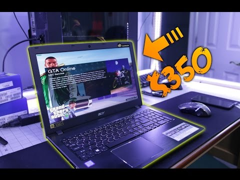 What Can a $350 Gaming Laptop Do?