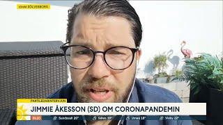 """Jimmie Åkesson (SD): """"Över 5000 människor har tvingats dö i förtid"""" - Nyhetsmorgon (TV4)"""