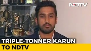 I Was Not Thinking About 300: Karun Nair