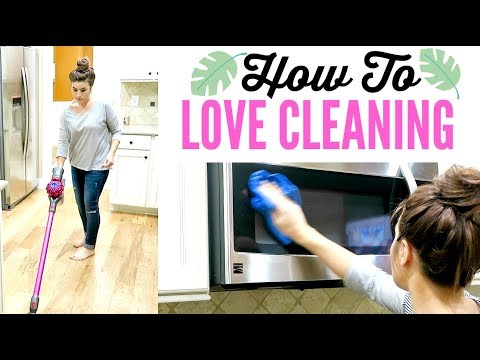 5 STEPS TO LOVE CLEANING   with SPEED CLEANING MOTIVATION   Love Meg