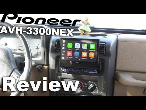 Pioneer AVH 3300NEX In‑dash DVD Receiver Pioneer Single DIN - 7