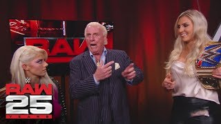 Charlotte Flair confronts Alexa Bliss: Raw 25, Jan. 22, 2018