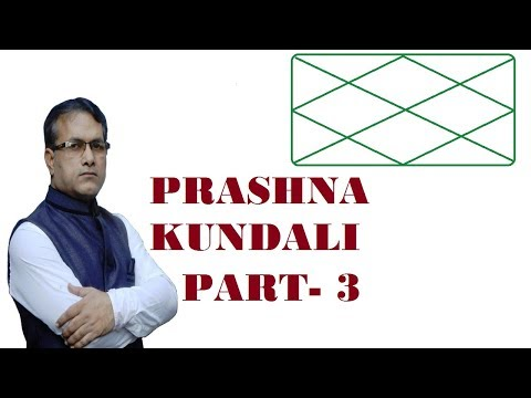 LEARN PRASHNA KUNDALI - PART-3 -  KP Astrology || Vedic astrology