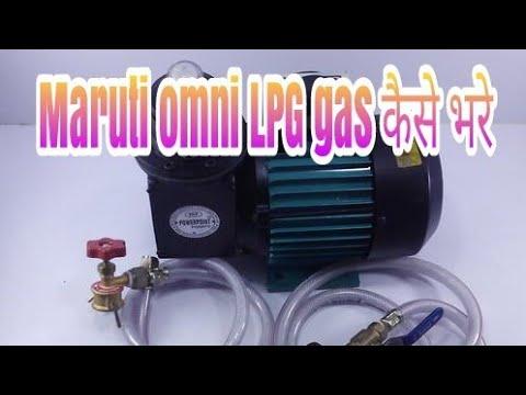 Maroti Omni car Lpg refiling