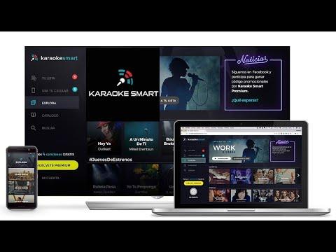 como aser Karaoke Smart  Tu karaoke en casa gratis 2018