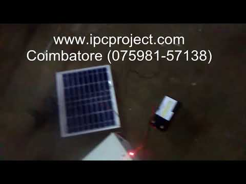 Solar vapour absorption refrigeration system / solar absorption air conditioning project