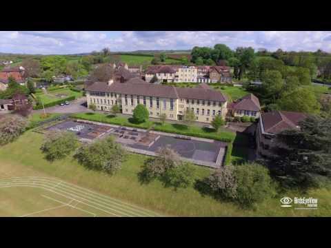 Bruton School For Girls Aerial Video