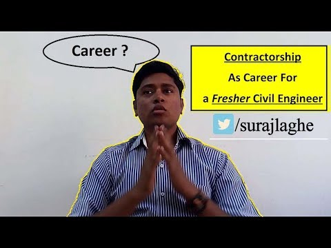 PWD Contractorship as Career l Unemployed Civil Engineer Contractor l Hindi l Suraj Laghe
