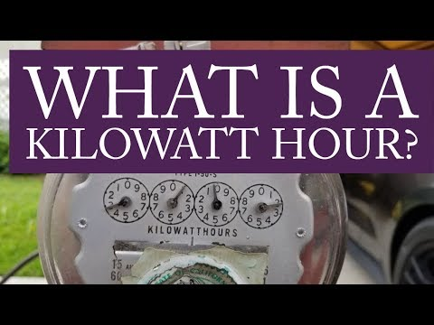 What is a Kilowatt Hour and How do I Calculate Them