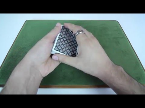 Card Palming Technique - Two handed Top Palm Tutorial