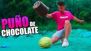 PUÑO GIGANTE DE CHOCOLATE INDESTRUCTIBLE!! [bytarifa]