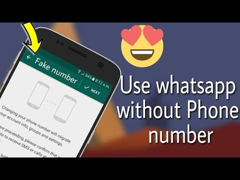 How to create whatsapp without number #textnow
