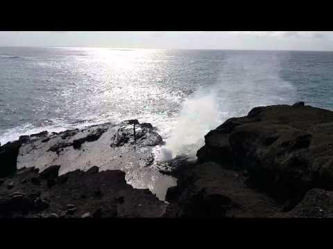 blow hole Hawaii
