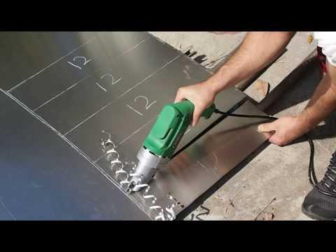 Wood gasifier sheet metal Cutting