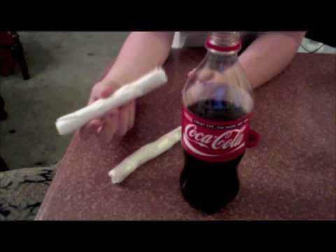 How to Make a Baking Soda and Vinegar Bomb, Part 1