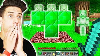 HOW TO SUMMON GREEN STEVE IN MINECRAFT!