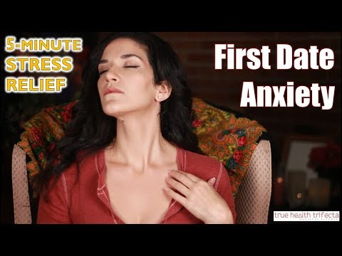 Make FIRST DATE ANXIETY or nervousness disappear! - Stress Relief Series / EFT / Cat Lady Fitness