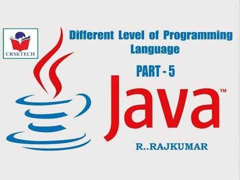 High Level Programming Language | Java | Part-5 | R..Rajkumar