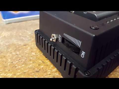 CN-160 LED Video Light Modifications