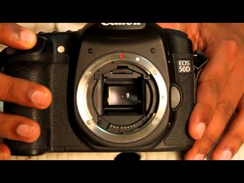 Canon 50d shutter actuation video captured by canon 500d camera..