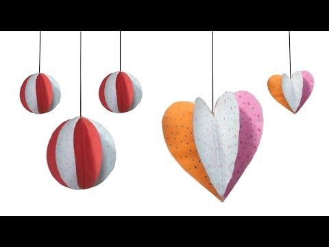 Decoration idea | 3D Christmas Ornament/Baubles -1 | Home decor