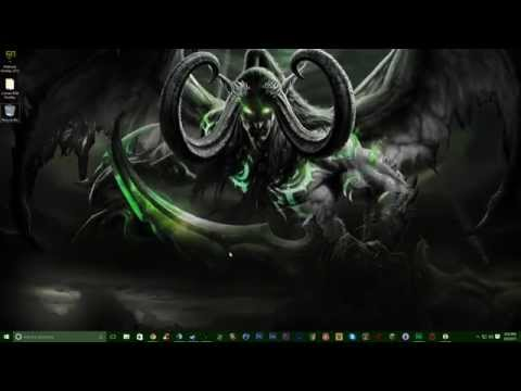 WoW Legion: Illidan Animated Desktop Wallpaper! (WITH DREAM DOWNLOAD LINK!)