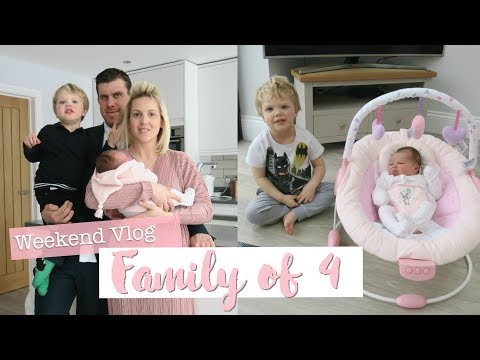 Mumlife as a Family of 4 | Getting Mastitis | Family Christening