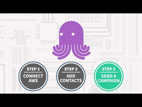 Send emails on the CHEAP With Amazon Great Deliverability Email Octopus Review Free Trial!