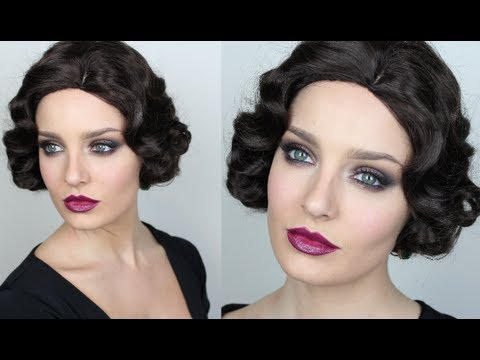 Vintage Inspired Great Gatsby Makeup!