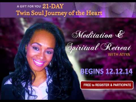 21 DAY  TWIN SOUL JOURNEY OF THE HEART - FREE GIFT-