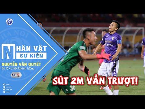 Không tưởng - Văn Quyết sút 2m không vào khung thành trống | Hà Nội vs Sài Gòn