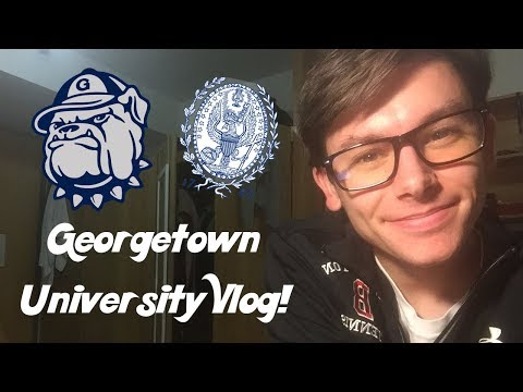Vlogging My First Weeks at Georgetown University!