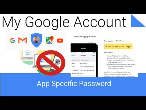 How to Generate a Google Account App Specific Password