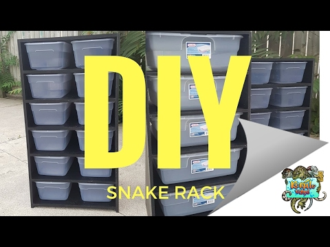 Snake Rack- DIY in PVC