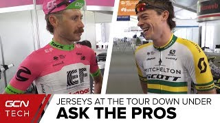 Ask The Pros At The Tour Down Under | What Kit Do Professional Cyclists Prefer?