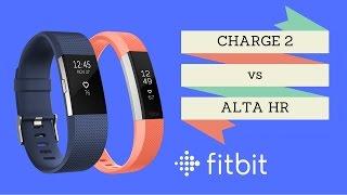 Fitbit Charge 2 vs Fitbit Alta HR [deutsch]