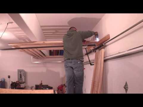 2x4 Garage Shelves