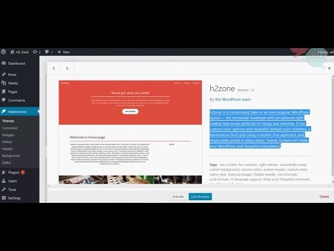 How to make custom theme from html in wordpress part 1of2